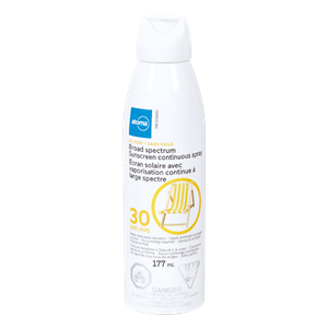 atoma sunscreen spray spf30