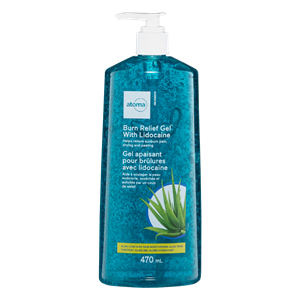 atoma aloe vera after sun gel